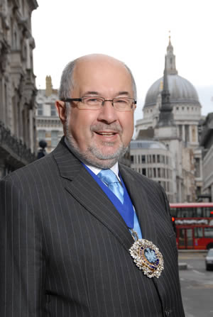 Alderman Ian Luder, Lord Mayor of London