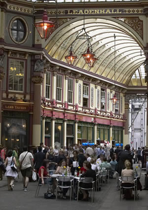 Leadenhall Market in the City